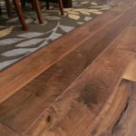 Skip Sawn and High Character Walnut Planks