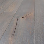 White Oak Flooring with Wire Brushed Face