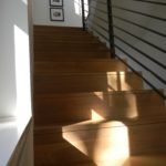 White Oak Stair Treads and Riser