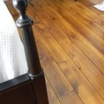White Pine Plank Flooring with quirk gap