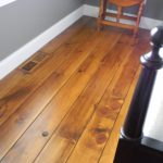 White Pine Wide Plank Distressed Wood Flooring