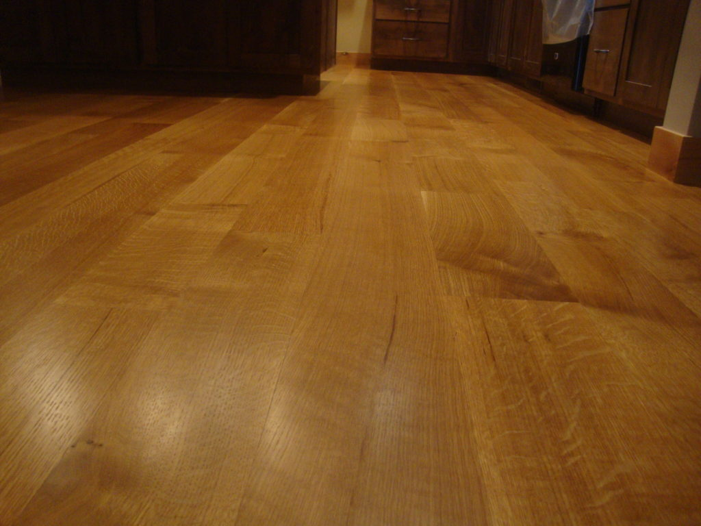 White Oak Flooring Balsam Wide Plank Flooring
