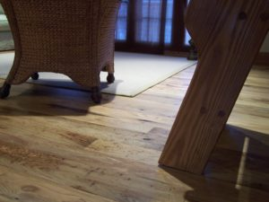 Wide Plank Wormy Butternut Wood Flooring