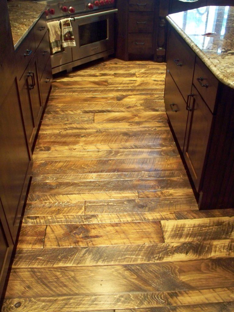 Dark Wood Floor Kitchen Ideas