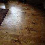 Wide Width Character White Oak Hardwood Floor
