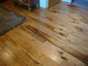 Wormy Butternut Flooring