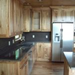Wild Maple Flooring with Character Butternut Cabinets
