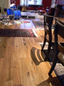 Mixed Width Character Wormy Butternut Flooring