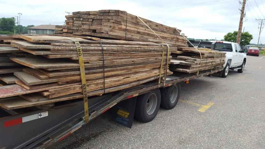 Reclaim Oak Lumber