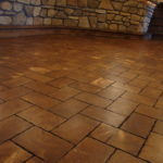 Pine End Grain Brick Floors