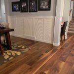 Wide and Long Cailco Walnut Hardwood Floor